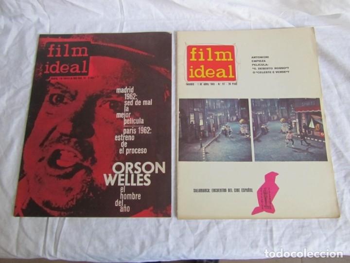 Cine: 23 números de la revista Film Ideal, ver número en descripción y fotografías - Foto 17 - 186127125