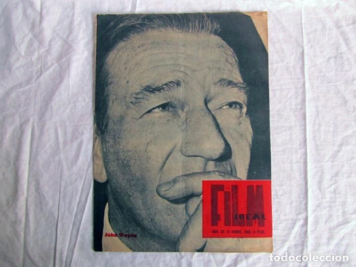 Cine: 23 números de la revista Film Ideal, ver número en descripción y fotografías - Foto 19 - 186127125