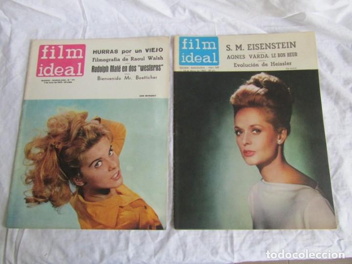 Cine: 23 números de la revista Film Ideal, ver número en descripción y fotografías - Foto 27 - 186127125