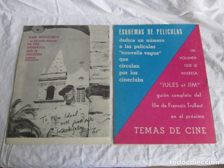 Cine: 23 números de la revista Film Ideal, ver número en descripción y fotografías - Foto 28 - 186127125