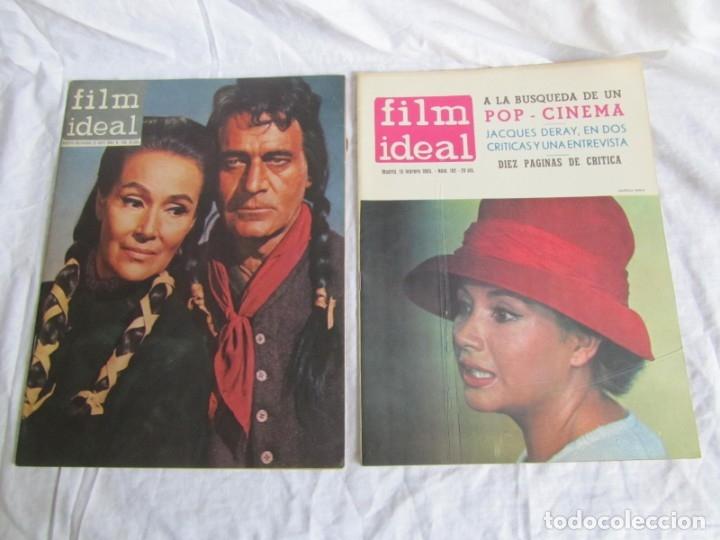 Cine: 23 números de la revista Film Ideal, ver número en descripción y fotografías - Foto 29 - 186127125