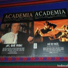 Cine: ACADEMIA REVISTA DEL CINE ESPAÑOL NºS 11 JULIO 95 Y 21 ENERO 98. 700 PTS. RARAS. . Lote 186161301