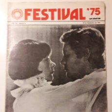 Cine: FESTIVAL DE CINE DE SAN SEBASTIÁN 1973. TRUFFAULT, MICHAEL CAINE.... Lote 186181068