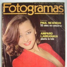 Cine: PAUL NEWMAN. ALFRED HITCHCOCK. JANET LEIGH. LOS PECOS. MIKE OLDFIELD. REVISTA FOTOGRAMAS 1981.. Lote 186187768
