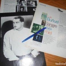 Cine: RECORTE : HOMENAJE A LUIS BUÑUEL. CINEMANIA, SEPTMBRE 1996. Lote 186238076