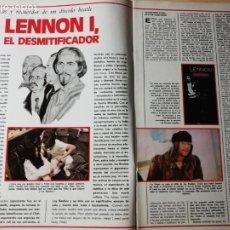 Cine: THE BEATLES - JOHN LENNON. REVISTA COMPLETA. Lote 186256210