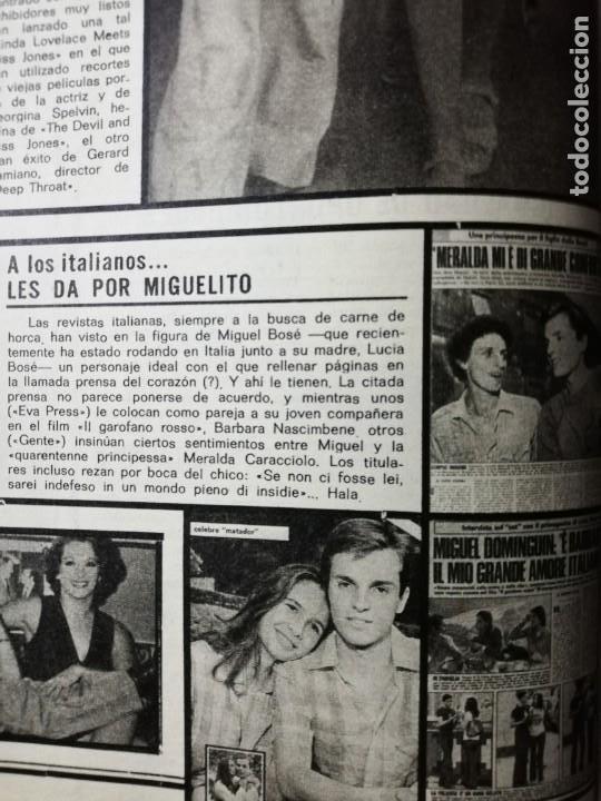 MIGUEL BOSE. REVISTA COMPLETA (Cine - Revistas - Fotogramas)