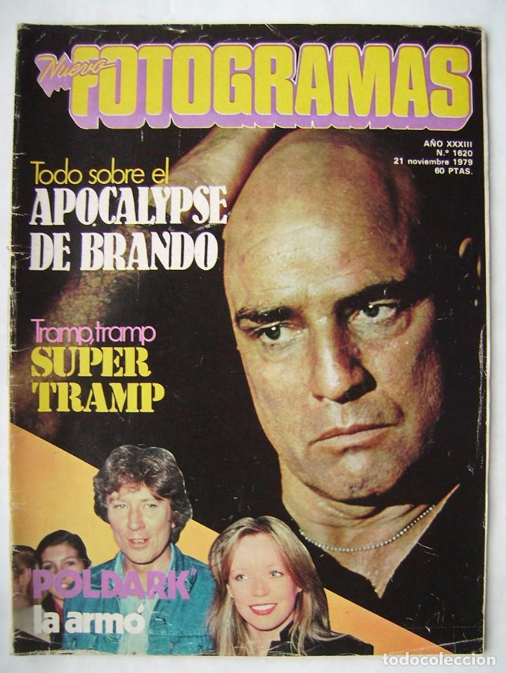 MARLON BRANDO. REVISTA FOTOGRAMAS 1979. (Cine - Revistas - Fotogramas)