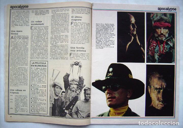Cine: MARLON BRANDO. REVISTA FOTOGRAMAS 1979. - Foto 2 - 186285215