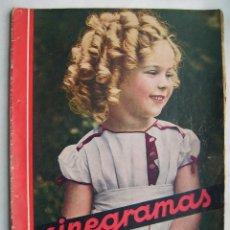 Cinéma: SHIRLEY TEMPLE. GRETA GARBO. CAROLE LOMBARD. REVISTA CINEGRAMAS 1934.. Lote 186292243
