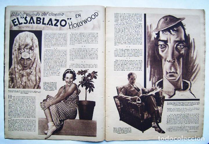 Cine: SHIRLEY TEMPLE. GRETA GARBO. CAROLE LOMBARD. REVISTA CINEGRAMAS 1934. - Foto 2 - 186292243