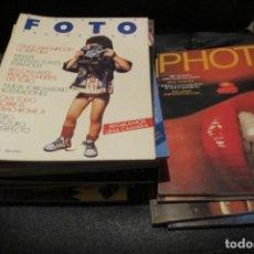 Cine: LOTE DE REVISTAS DE FOTOGRAFIA ANTIGUA. REVISTA PHOTO 4 Nº. REVISTA NUEVA FOTO PROFESIONAL 18 Nº. Lote 186311436
