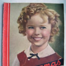 Cine: SHIRLEY TEMPLE. MAURICE CHEVALIER. GINGER ROGERS . REVISTA CINEGRAMAS 1936.. Lote 186332316