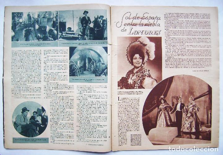 Cine: SHIRLEY TEMPLE. MAURICE CHEVALIER. GINGER ROGERS . REVISTA CINEGRAMAS 1936. - Foto 2 - 186332316