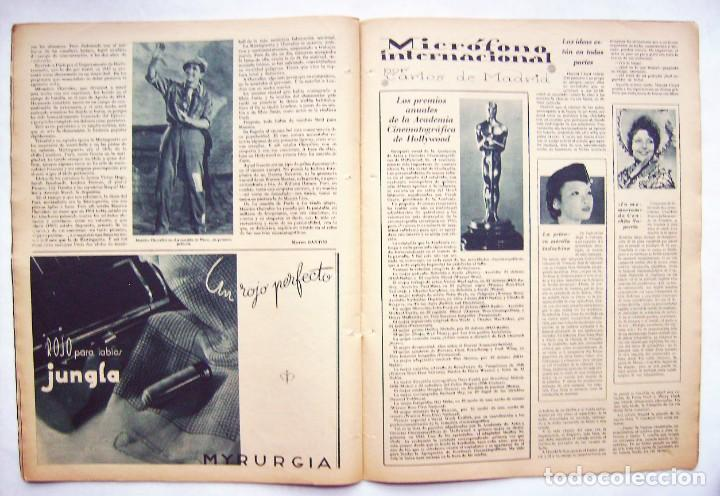 Cine: SHIRLEY TEMPLE. MAURICE CHEVALIER. GINGER ROGERS . REVISTA CINEGRAMAS 1936. - Foto 6 - 186332316
