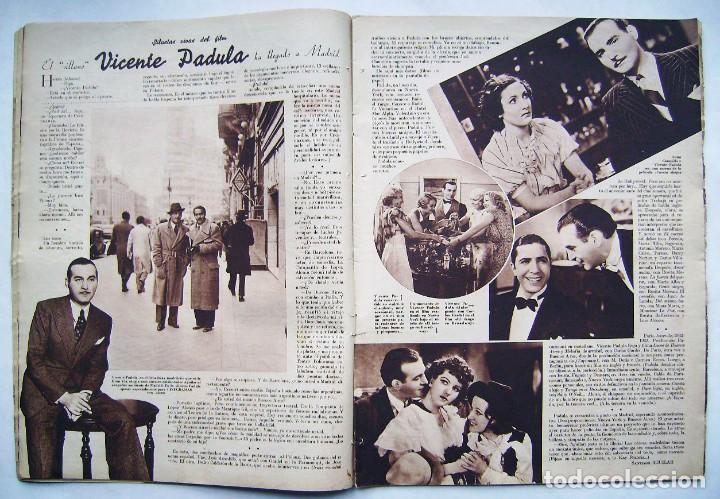 Cine: DOLORES DEL RÍO. CATALINA BARCENA. FREDRIC MARCH . REVISTA CINEGRAMAS 1935. - Foto 3 - 186333631