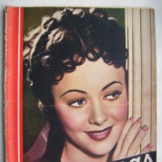 Cinéma: OLIVIA DE HAVILLAND. IMPERIO ARGENTINA. CARMEN AMAYA . REVISTA CINEGRAMAS.. Lote 186339585