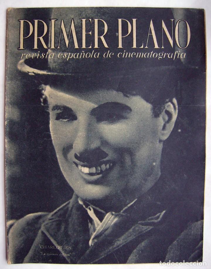 CHARLES CHAPLIN. REVISTA PRIMER PLANO. 1944. (Cine - Revistas - Primer plano)