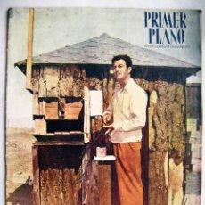 Cine: ROBERT TAYLOR, MARÍA MONTEZ. REVISTA PRIMER PLANO. 1947.. Lote 186363197