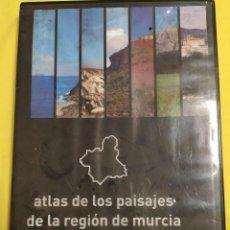 Cine: ATLAS DE LOS PAISAJES DE LA REGION DE MURCIA. Lote 186369378
