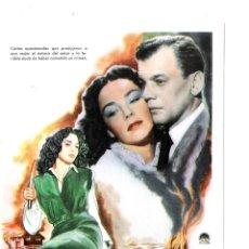 Cine: CARTAS A MI AMADA PROGRAMA DE MANO MODERNO-NO ORIGINAL-JENNIFER JONES-. Lote 186376071