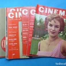 Cine: CINEMA, 10 ANTIGUAS REVISTAS, AÑOS 1940-1950-1960 - VER FOTOS ADICIONALES. Lote 187093088