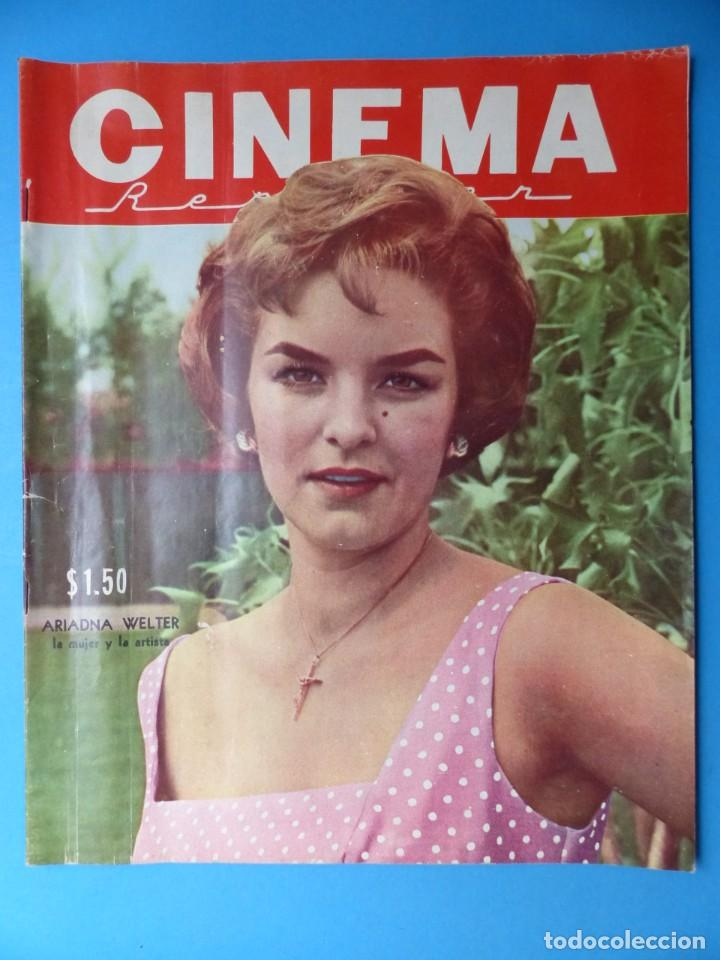 Cine: CINEMA, 10 ANTIGUAS REVISTAS, AÑOS 1940-1950-1960 - VER FOTOS ADICIONALES - Foto 2 - 187093088