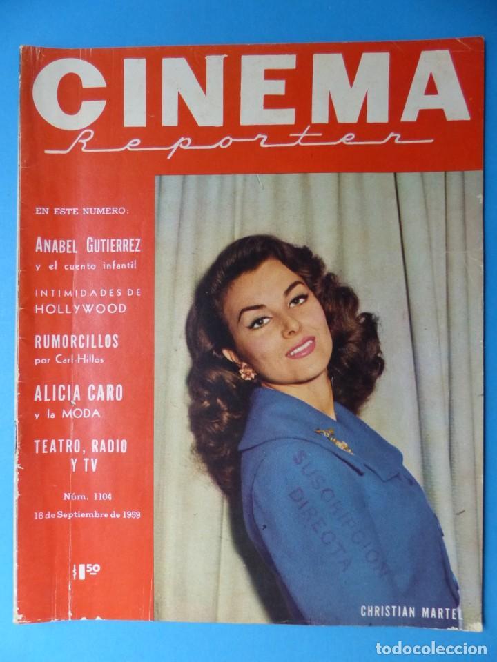 Cine: CINEMA, 10 ANTIGUAS REVISTAS, AÑOS 1940-1950-1960 - VER FOTOS ADICIONALES - Foto 5 - 187093088