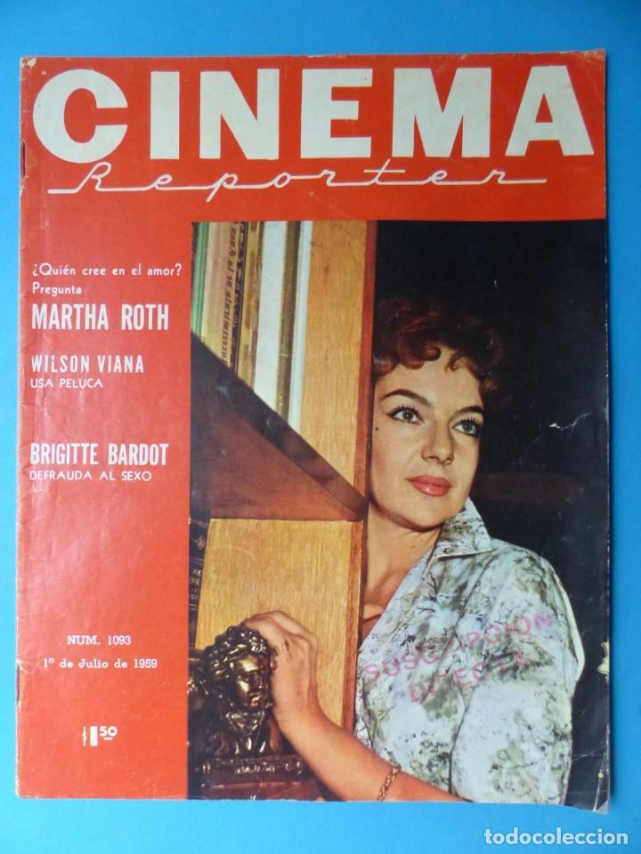 Cine: CINEMA, 10 ANTIGUAS REVISTAS, AÑOS 1940-1950-1960 - VER FOTOS ADICIONALES - Foto 8 - 187093088