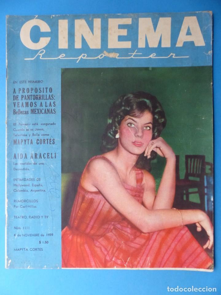 Cine: CINEMA, 10 ANTIGUAS REVISTAS, AÑOS 1940-1950-1960 - VER FOTOS ADICIONALES - Foto 9 - 187093088