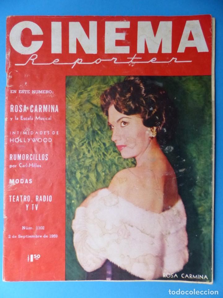 Cine: CINEMA, 10 ANTIGUAS REVISTAS, AÑOS 1940-1950-1960 - VER FOTOS ADICIONALES - Foto 10 - 187093088
