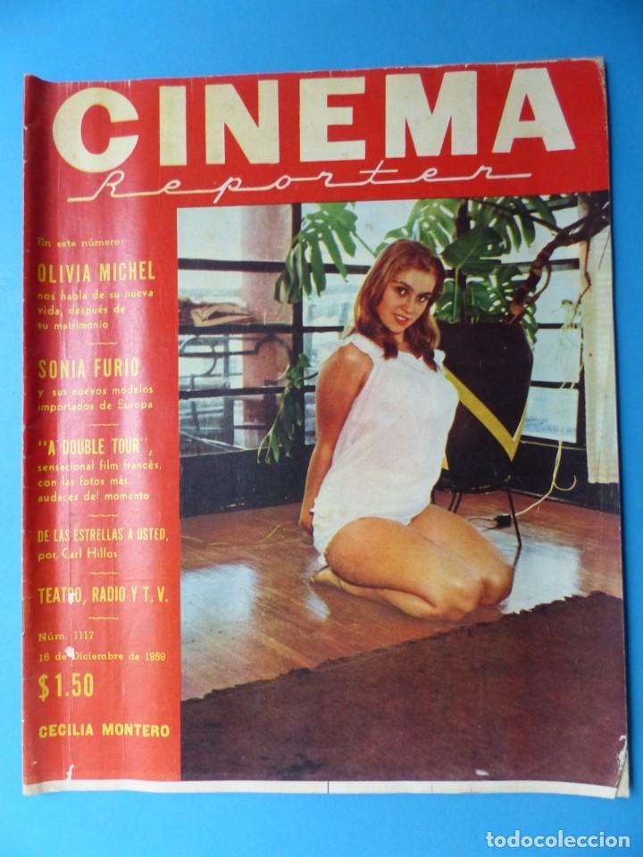 Cine: CINEMA, 10 ANTIGUAS REVISTAS, AÑOS 1940-1950-1960 - VER FOTOS ADICIONALES - Foto 11 - 187093088
