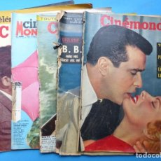 Cinéma: CINEMONDE, 6 ANTIGUAS REVISTAS, AÑOS 1950 - VER FOTOS ADICIONALES. Lote 187093297