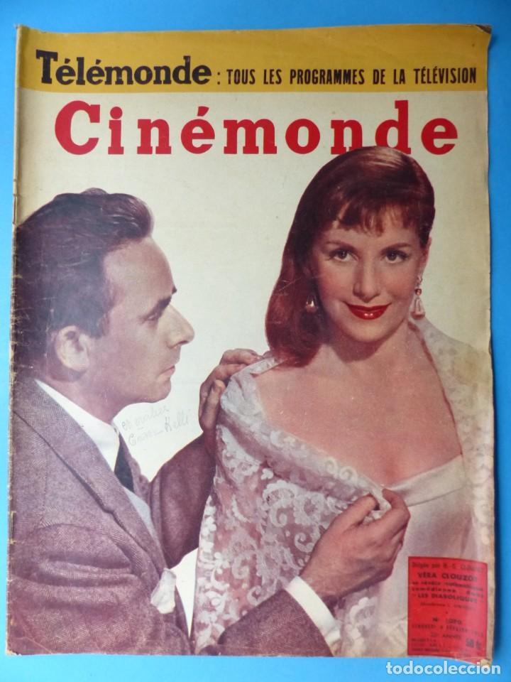 Cine: CINEMONDE, 6 ANTIGUAS REVISTAS, AÑOS 1950 - VER FOTOS ADICIONALES - Foto 6 - 187093297