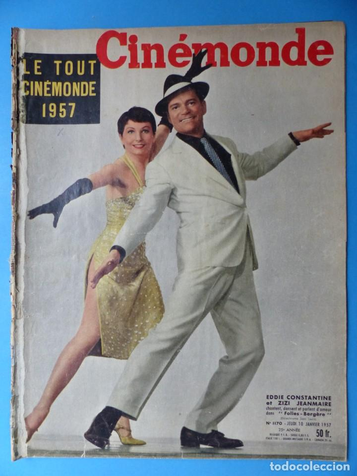 Cine: CINEMONDE, 6 ANTIGUAS REVISTAS, AÑOS 1950 - VER FOTOS ADICIONALES - Foto 7 - 187093297