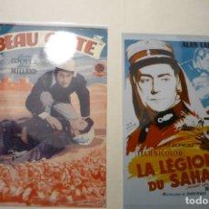Cine: LOTE REPRODUCCIONES FOTO PELICULAS LEGION EXTRANJERA BEAU GESTE ETC. Lote 187120478
