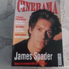 Cinema: REVISTA CINERAMA Nº 31, JAMES SPADER, CHARLES CHAPLIN. Lote 187149603