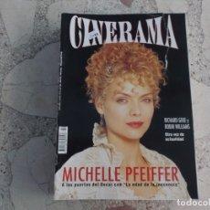 Cinema: REVISTA CINERAMA Nº 22, MICHELLE PFEIFFER, . Lote 187149797