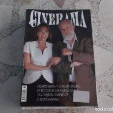 Cine: REVISTA CINERAMA Nº 7, CARMEN MAURA Y GONZALO SUAREZ. Lote 187149837