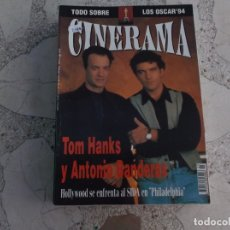 Cine: REVISTA CINERAMA Nº 23, TOM HANKS Y ANTONOI BANDERAS. Lote 187149907