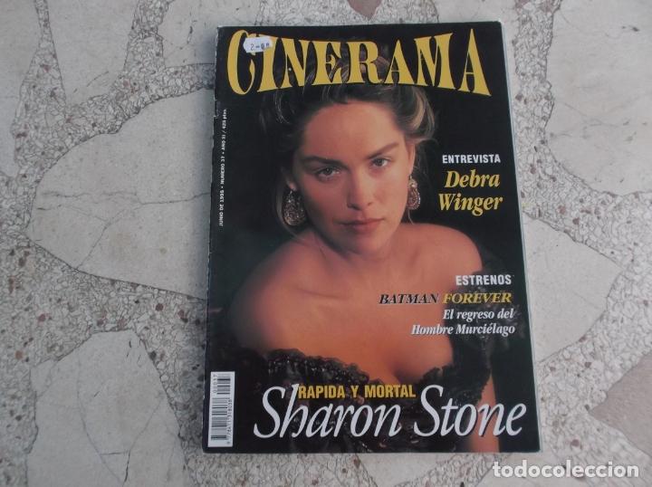 REVISTA CINERAMA Nº 37, SHARON STONE, DEBRA WINGER (Cine - Revistas - Cinerama)