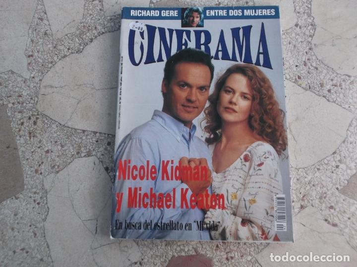 REVISTA CINERAMA Nº 24, NICOLE KIDMAN Y MICHAEL KEATON (Cine - Revistas - Cinerama)