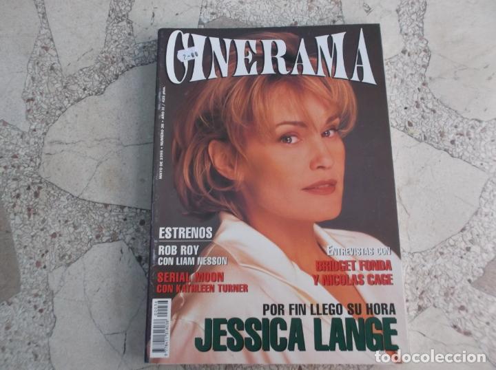 REVISTA CINERAMA Nº 36, JESSICA LANGE, BRIDGET FONDA Y NICOLAS CAGE (Cine - Revistas - Cinerama)