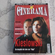 Cine: REVISTA CINERAMA Nº 29, KIESLOWSKI, FEDERICO FELLINI. Lote 187150090