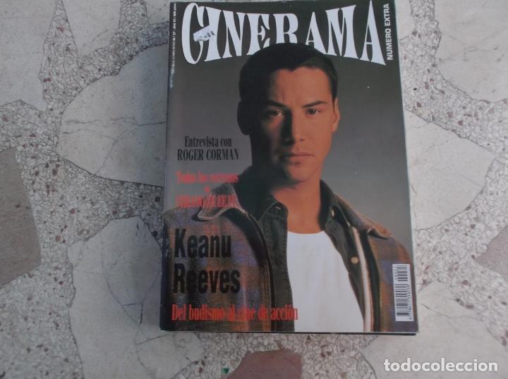 REVISTA CINERAMA Nº 27, KEANU REEVES,ROGER CORMAN (Cine - Revistas - Cinerama)