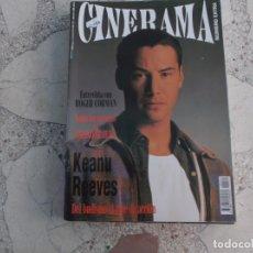 Cine: REVISTA CINERAMA Nº 27, KEANU REEVES,ROGER CORMAN. Lote 187150156