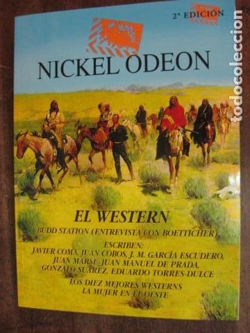 REVISTA NIKEL ODEON NIKELODEON Nº 4 ESPECIAL WESTERN 2ª EDICION BUD BOETTICHER (Cine - Revistas - Nickel Odeon)