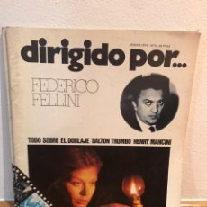 Cine: DIRIGIDO POR FEDERICO FELLINI NÚMERO 9. Lote 187330861