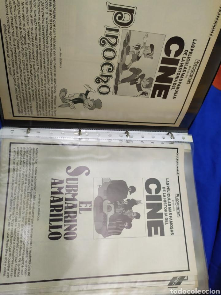 FOTOGRAMAS COLECCIONABLE LAS PELICULAS MAS FAMOSAS DE LA HISTORIA DEL CINE (Cine - Revistas - Fotogramas)
