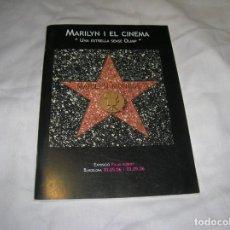 Cine: REVISTA MARILYN I EL CINEMA ,UNA ESTRELLA SENSE OLIMP ILUSTRADO . Lote 187413206